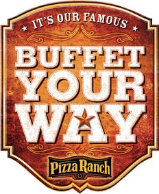 Buffet Your Way means you can request any pizza you like and they'll bring you the very first slice!