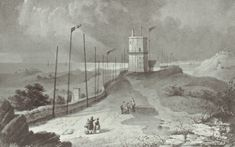 w g herdman | A Pictorial Relic of Bidston Hill - Bidston Lighthouse