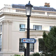 The world's most expensive terraced house 1 Cornwall Terrace, London