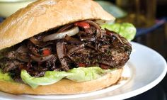 Portuguese Steak Sandwich:  This 'Bife Ana' sandwich is more properly called a 'prego' in Portuguese