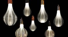 The Cosmic Light of NAP Laser Etched URI LED Light Bulbs