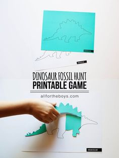 Dinosaur Fossil Hunt Printable Game Dinosaur fossil hunt printable game - comes with 5 dinosaurs! Dinosaur Fossil Hunt Printable Game Dinosaur fossil hunt printable game - comes with 5 dinosaurs! Dinosaur Games, Dinosaur Dig, Dinosaur Activities, Dinosaur Crafts, Dinosaur Fossils, Activities For Kids, Dinosaur Printables, Vocabulary Activities, Dinosaurs Preschool