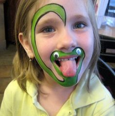 Cool Face Painting Ideas For Kids, which transform the faces of little ones without requiring professional quality painting skills. Girl Face Painting, Face Painting Designs, Painting For Kids, Body Painting, Face Paintings, Easy Face Painting, Children Painting, The Face, Face And Body