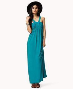 Braided maxi dress.