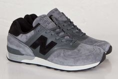 "New Balance 576 ""Made in England"" Grey & Black Pack"