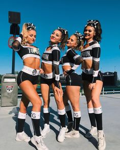 sorry for being for so inactive today. I was really busy & had a lot going on. Ill make sure that we post more tomorrow! Cute Cheerleaders, Cheerleading Cheers, Cheerleading Pictures, Famous Cheerleaders, Competitive Cheerleading, School Cheerleading, Cheer Picture Poses, Cheer Poses, Cheer Team Pictures