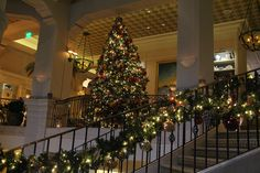 It's the most wonderful time of the year at Hotel Casa del Mar! Santa Monica, California.
