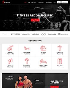JustFit is the ultimate fitness and exercise WordPress theme. Whether you run a fitness community, are a personal trainer, publish as an online magazine, or own a local gym, JustFit has the feature… Personal Trainer Website, Social Media Buttons, Local Gym, Blog Layout, Wordpress Template, Premium Wordpress Themes, Website Template, Fun Workouts, Fitness