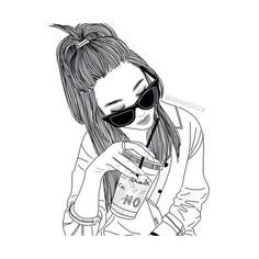 awesome outline by http ❤ liked on Polyvore featuring fillers, art, sketch, doodle, outline and scribble
