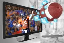 Twitter scripts a new channel for network TV feedback, and Tebow throws 'Twitter touchdowns.'