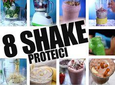 8 Shake proteici