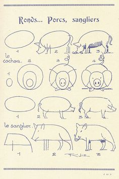Malvorlage: Drawing for kids 2019 Drawing Lessons, Drawing Techniques, Art Lessons, Illustration Art, Illustrations, Drawing For Kids, Teaching Art, Animal Drawings, Easy Drawings