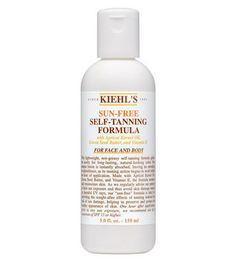 Kiehl's Sun-Free Self Tanning Formula makes your skin feel great while building up a natural-looking tan. Works on face and body! http://thestir.cafemom.com/beauty_style/185898/13_self_tanners_bronzers_for