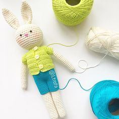 Зайка Высота около 20см(с ушами) одежда снимается материал 100% хлопок стоимость 800 #crochet #Ltrofahobbi #инстамама#crochetart #crochetlove #kniting  #вязаниедетям #хобби #лето #summer #amigurumi  #weamiguru #крючок #baby #teddybear #teddy #екатеринбург #игрушки #лето #пасха #rabbit #кролик by ltrofa_hobbi
