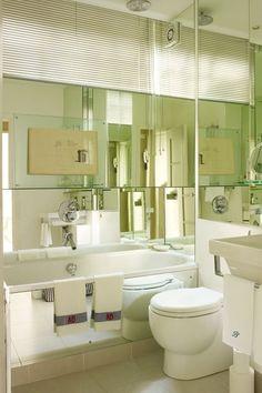 Ideas para decorar un baño pequeño (2)