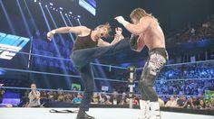 Ambrose gets payback for Zigglers superkick earlier!
