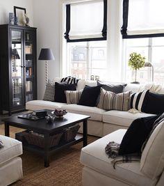 white ikea hemnes coffee table - Google Search More