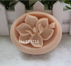 Creativemoldstore 1pcs Flower (zx1637) Craft Art Silicone Soap Mold Craft Molds DIY Handmade Soap Mould ** Check out this great product.