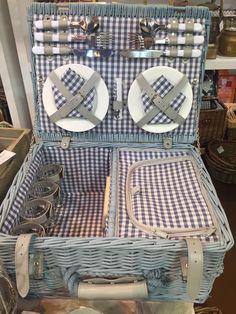 Cesta de picnic cuatro servicios The Welly Home…