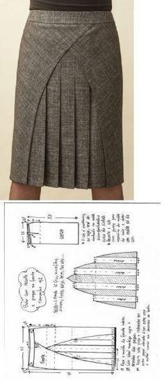 sew skirt | шитье | Постила