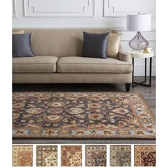 Hand-tufted Nia Traditional Rug
