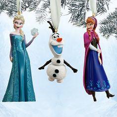 Frozen Sketchbook Ornament Set