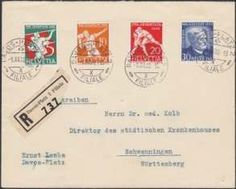 Switzerland 1932, First Day Cover, used DAVOS Place 1. XII. 32, to Schwenningen, Akst.  Dealer Walter Fuerst Philately  Auction Starting Price: 350.00C...