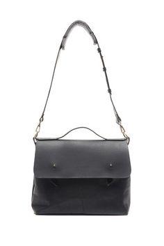 Saint-Joseph leather bag / Made in Montreal / lowellmtl.com