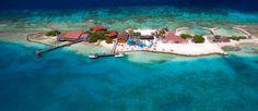 Arial View of De Palm island Aruba