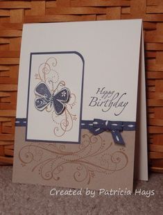 krafty vintage butterfly by PH in VA - Cards and Paper Crafts at Splitcoaststampers