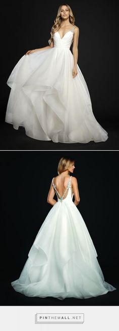 Bridal Gowns and Wedding Dresses by JLM Couture - Style 6704 Dare Hayley Paige Spring 2017 - created via https://pinthemall.net