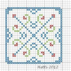 Cross Stitch SAL 2012  Part 1