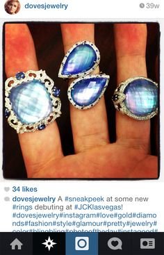 Follow us on #INSTAGRAM to see our latest designs as soon as we have them! @Doves by Doron Paloma