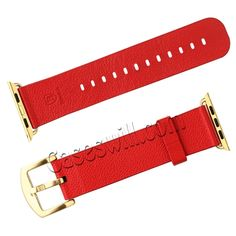 Home Official Website Adjustable Wristband Pin Buckle Two-pieces Watch Band Wear Resistant Soft Solid Casual Accessories Faux Leather Belt For Apple Firm In Structure