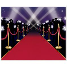 Amazon.com: Red Carpet Insta-Mural Party Accessory (1 count) (1/Pkg): Kitchen & Dining