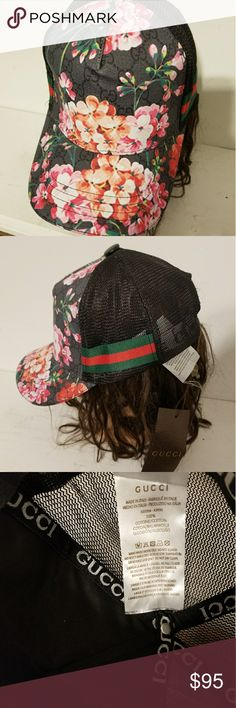 b4e04882 Gucci Floral hat New Gucci Floral hat with adjustable strap Gucci  Accessories Hats
