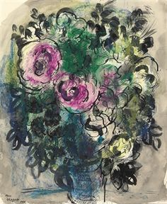 Chagall, Marc Roses 1950