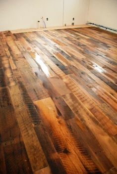 love these wooden floors