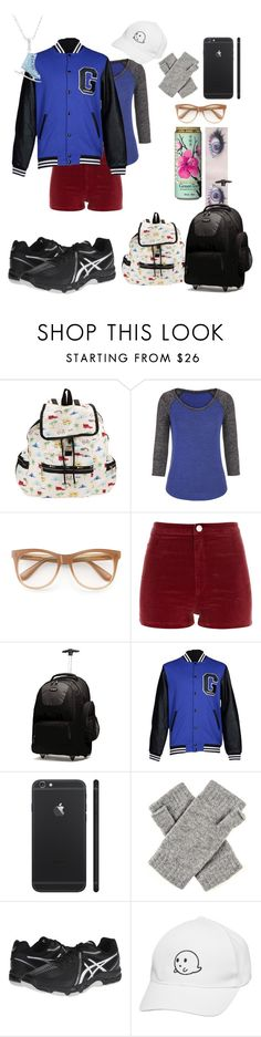 """""""Bianca Pavlov   Yuri On Ice   Travel"""" by softskies22 ❤ liked on Polyvore featuring LeSportsac, maurices, Wildfox, River Island, Samsonite, GaÃ«lle Bonheur, Asics and Fantasy Jewelry Box"""