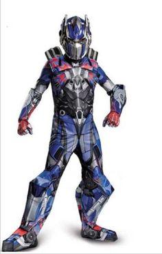 Optimus Prime Costume Kid