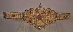 Antique Turkish Ottoman Gold Gild Silver Armenian Belt Ottoman Empire Armenia | eBay