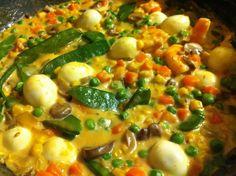Veggies with Quail Eggs - PinoyCookingRecipes
