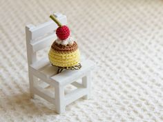 Amigurumi pudding ring