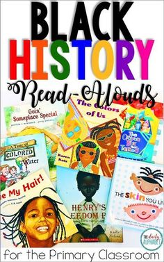 Black History in the Primary Classroom - These books are some of my fave read-alouds for black history month. I love how they reinforce how - Primary Classroom, History Classroom, History Education, Teaching History, Holiday Classrooms, Future Classroom, Google Classroom, Physical Education, Teaching Resources