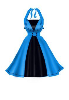 Rockabilly Lovely Dresses, Vintage Dresses, Vintage Outfits, Rockabilly Outfits, Rockabilly Fashion, 1940s Fashion, Vintage Fashion, Flare Dress, Dress Up