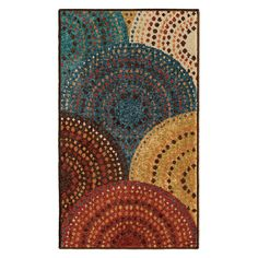 Better Homes and Gardens Dotted Circles Indoor Area Rug - 319484