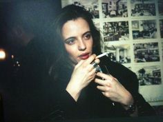 """I wanted to get high from a really early age."" Nan Goldin"