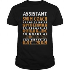 ASSISTANT SWIM COACH - BATMAN - #retro t shirts #make your own t shirts. ORDER HERE => https://www.sunfrog.com/LifeStyle/ASSISTANT-SWIM-COACH--BATMAN-Black-Guys.html?id=60505