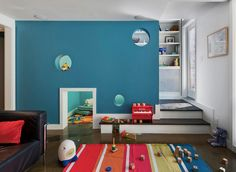 A tiny crawl space. | 32 Things That Belong In Your Child's Dream Room