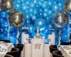 Lights on. requested balloons for her sons baptism that was pretty much all the direction we needed and the 💡 in my head… Angela Simmons, Balloons, Chandelier, Ceiling Lights, Lighting, Communion, Pretty, Sons, Party Ideas